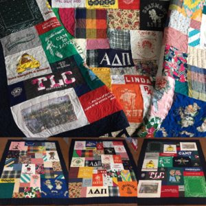 T-Shirt Quilt Stories - Minnesota T-Shirt Quilts : quilt made out of t shirts - Adamdwight.com